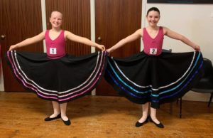 Graded exam candidates at Dance Warehouse